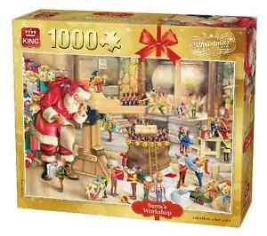 1000 Pièce Noël Casse-Tête Père Noël Santa's Workshop Grotte 5350  </span>