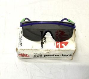 Vintage MAC Tools UVEX Adjustable Eye Protection Safety Glasses Mechanic
