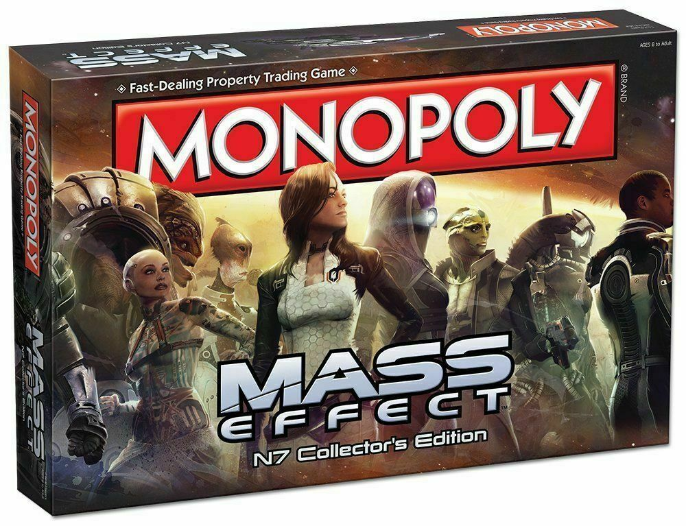 Monopoly   Mass Effect N7 Collector's Edition Board Game New Monopoli ENGLISH