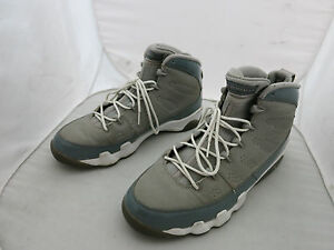 cbe3f01d6f0f Nike Air Jordan IX 9 Retro COOL GREY WHITE SILVER CHARCOAL BLACK ...