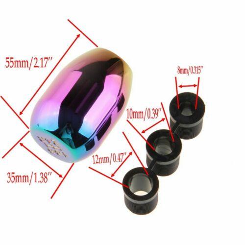 Universal Manual Transmission Car Gear Shift Knob Handle Shifter Lever 5 Speed