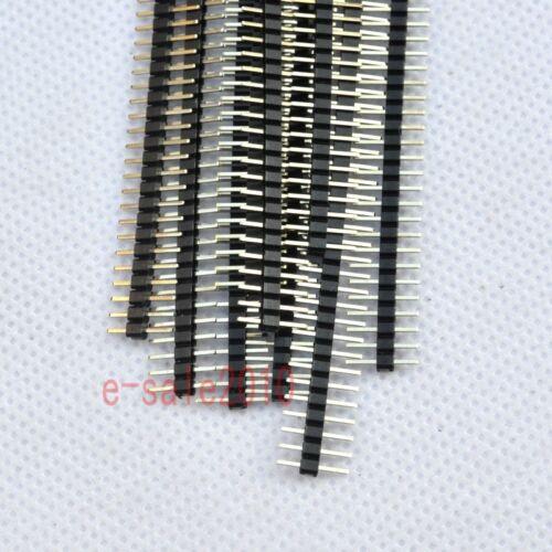 20pcs RoHS 1X40 2.0mm Pin Header Single Row Male for DIP PCB Board convert G30