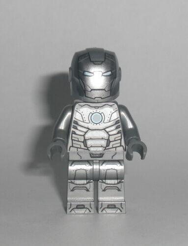 Figur Minifigur Suit Anzug 76167 LEGO Super Heroes Iron Man Rüstung silber