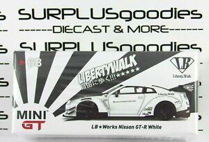 TSM-Model-Mini-GT-Overseas-Edition-LB-Works-LibertyWalk-White-NISSAN-GT-R-68