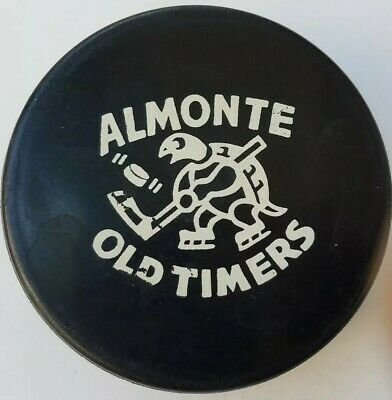 Fan Apparel & Souvenirs Trustful Vintage Almonte Old Timers Official Hockey Puck Made In Gdr To Produce An Effect Toward Clear Vision Sports Mem, Cards & Fan Shop