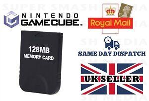 Carte-Memoire-128-Mo-Pour-NINTENDO-GAMECUBE-amp-WII-2043-blocs-neuf