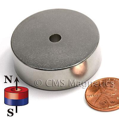 "Neodymium Magnets N42 1.5""ODx.207""IDx0.5""H NdFeB Rare Earth Magnets Lot 3"