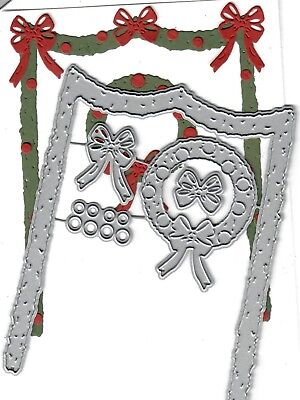 to die for metal cutting craft die stitched Ribbons /& Bows accent set Dies ..