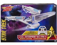 Air Hogs Star Trek USS Enterprise NCC-1701-A Drone 4 Channel RC w Lights, Sounds