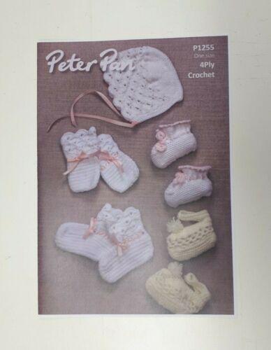 Peter Pan De Ganchillo Patrones Para Ropa De Bebé