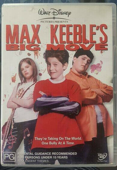 Max Keeble's Big Move (DVD) RARE  Australian region 4