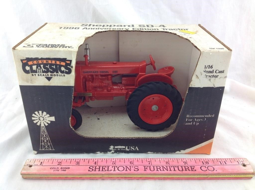 Scale Models Country Classics Sheppard SD-4 FX-1589 1 OF 1200 1996 Anniv Edition
