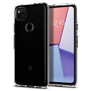 Pixel 4a (2020) Case Spigen® [Liquid Crystal] Crystal Clear Slim Cover