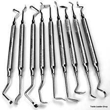 9 Set Sinus Lift Elevator Dental Implant Surgical Orthodontic Light Weight NATRA