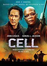 Cell John Cusack, Samuel Jackson STEPHEN KING USED VERY GOOD DVD