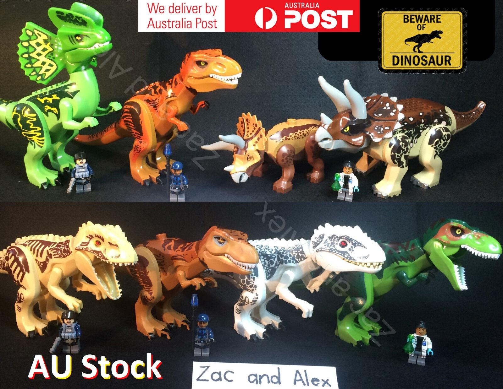 envío rápido en todo el mundo XL Dinosaurio Dinosaurio Dinosaurio Tiranosaurio parque  funciona Con Dinosaurios Jurassic World Lego Juguete  barato en línea