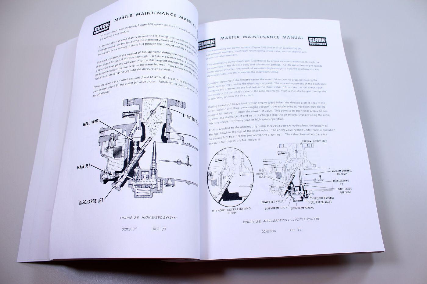 Clark C500-h40 C500-h45 Forklift Service Repair Shop Manual C500h40 C500h45    eBay
