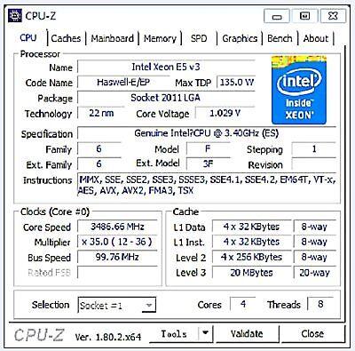 Intel xeon  QEYT  E5-2637V3  ES 3.4GHz 4C LGA2011-3 C612 X99