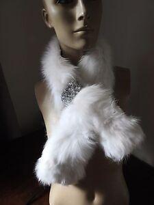 collo in neve in vera bianco di fodera con Giacca da pelliccia volpe raso di htsQdr