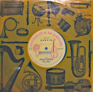 CATHERINE-LANGEAIS-votre-ami-CHOPIN-LP-25cm-INITIATION-MUSIQUE-piano-VG