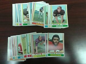 1974-Parker-Brothers-PRO-DRAFT-cards-3-99-ea-ALL-TEAMS-YOU-PICK