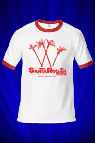 Santa Rosita Vintage RINGER Tee T-SHIRT It/'s a Mad Mad Mad World FREE SHIP USA