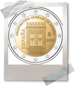2-EURO-Spanje-2020-Espagne-Mudejar-Architecture-Aragon