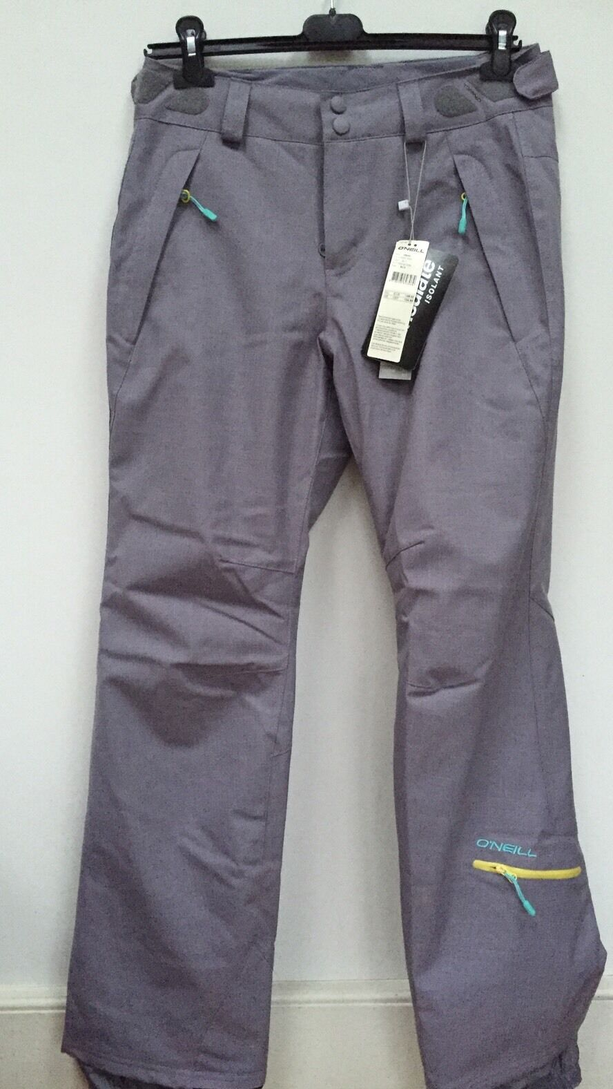Adult O Neill Skiing Snowboarding Trousers Grey Size S Rrp 130k