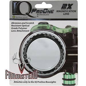 IQ Bowsight Pro One Magnification Lens 2x Attachment Kit IQ12215 #12215