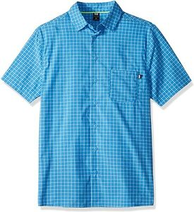 Helly-Hansen-255699-Men-039-s-Fjord-Quickdry-Shortsleeve-Shirt-Size-Small