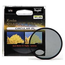 Kenko Slim Designed New Frame Smart Cir Polarizing CPL Camera Lens Filter 52mm