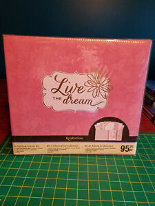 """Brand New Recollections /""""The Good Life/"""" 95 pc 12/"""" x 12/"""" scrapbook album kit"""