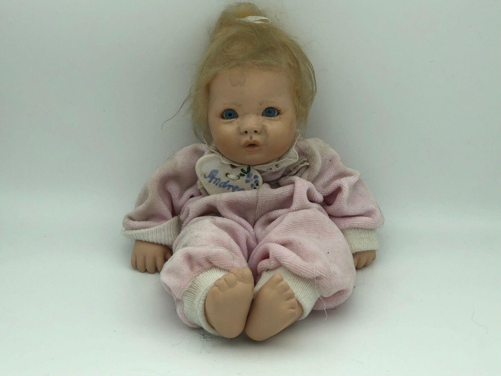 Top Zustand Dolls & Bears Künstlerpuppe Porzellan Puppe 73 Cm