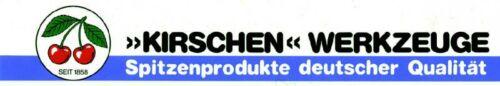 KIRSCHEN Stechbeitel Stemmeisen 2-35 mm breite Klinge Typ 1001 im Weißbuchenheft