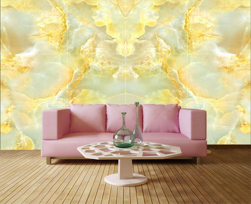 Golden Pulpy Violet 3D Full Wall Mural Photo Wallpaper Printing Home Kids Decor