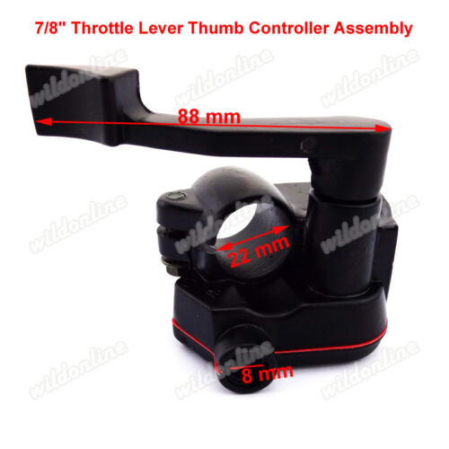 Thumb Throttle Accessory Housing Hand Grips 4 Wheeler Chinese ATV Quad
