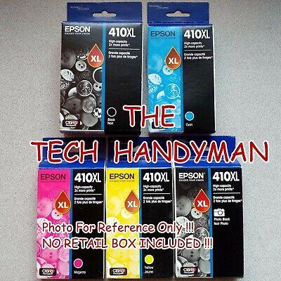 XP-520 XP-620 NO RETAIL BOX 5-PACK Epson GENUINE 273XL Black /& 273 Color Ink