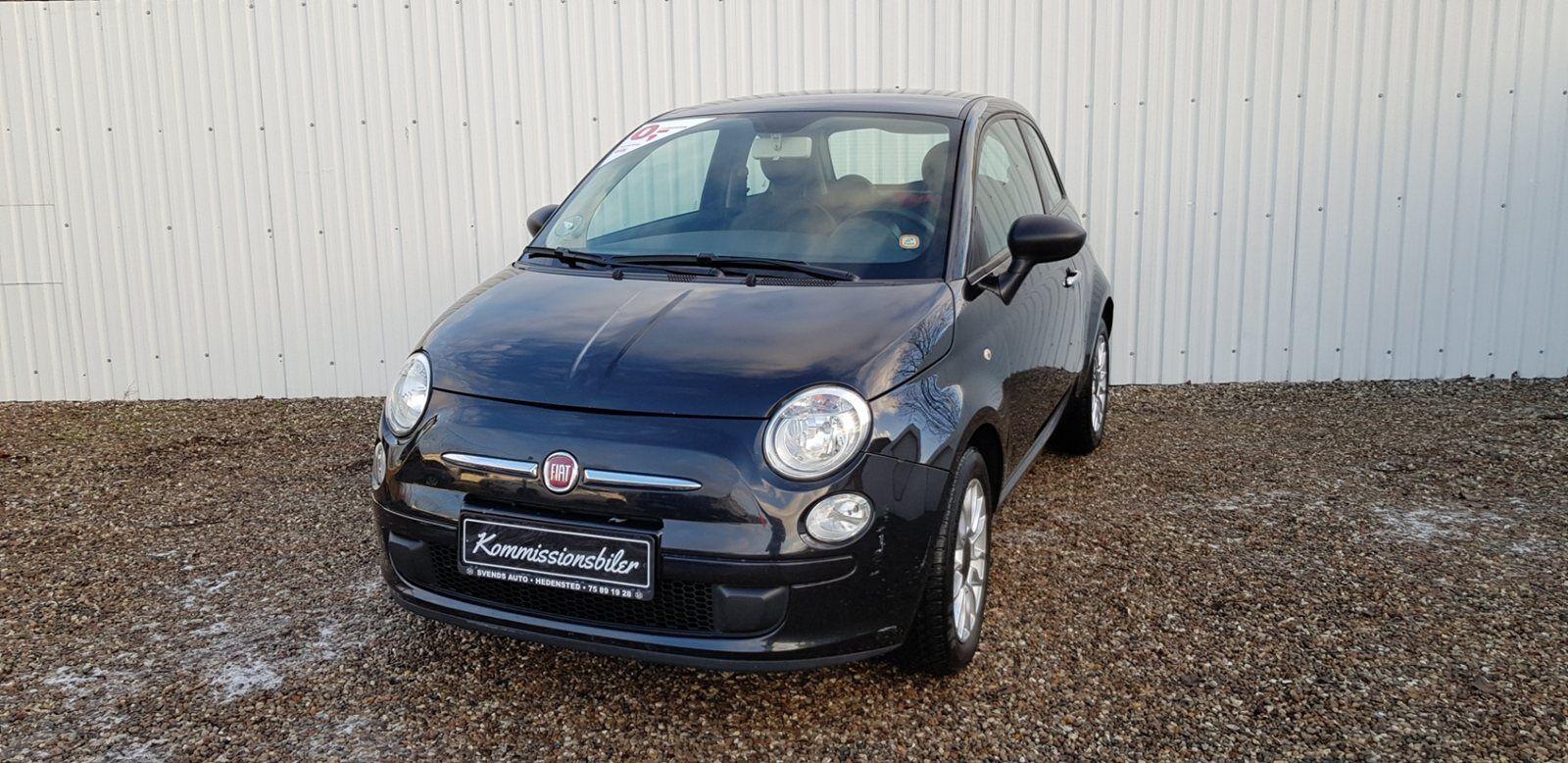 Fiat 500 1,2 Lounge 3d - 42.000 kr.