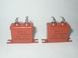 Russian-hermetically-sealed-PIO-paper-in-oil-capacitors-various-values-voltages