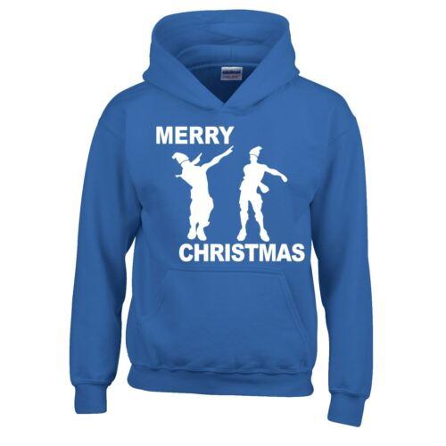 Floss Merry Christmas SweatShirt Inspired Top Present Men Kids Hoodie Dress