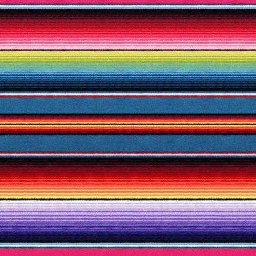 1 Yard Fiesta By Elizabeth's Studios Mexican Blanket