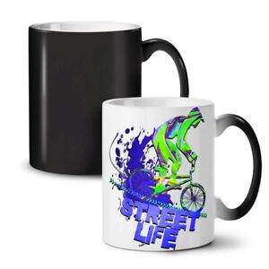 Street Life Bike Sport NEW Colour Changing Tea Coffee Mug 11 oz | Wellcoda