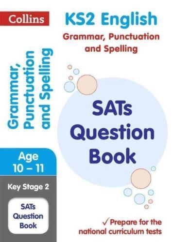 1 of 1 - KS2 Grammar, Punctuation and Spelling SATs Question Book (Collins KS2 SATs Revis