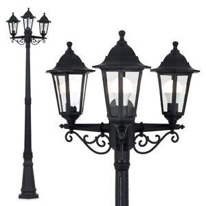 Victorian Style 3 Way Outdoor Garden Street Light Lamp