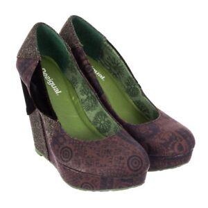 Desigual-scarpa-scarpe-Desigual-27PS361-Slip-On-Da-Donna-Splendida-Nuova-in-Scatola