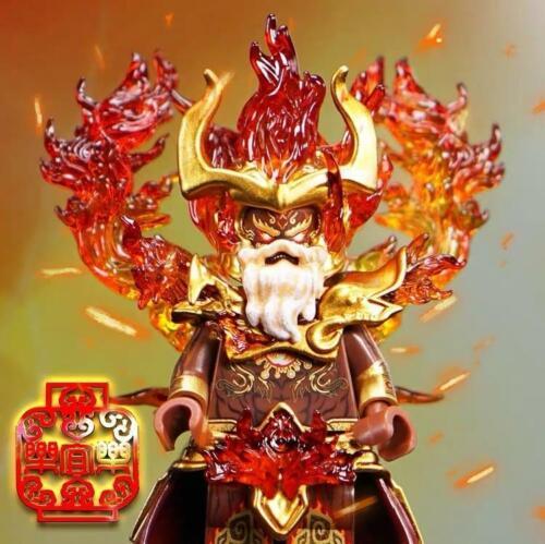 ⎡LYL BRICK⎦ Pre-order Custom Fire Deity Lego Minifigure *Lab9*
