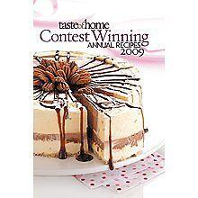 Taste of Home Contest Winning Annual Recipes 2009 Hardcover Cookbook