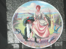 1983 Limoges Turgot Cendrillon Cindrella French Decorative Collector Plate 8 1/2