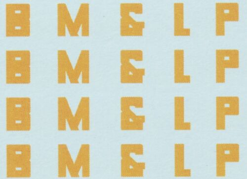 Custom Black Mesa /& Lake Powell E60CF Decal Set BM/&LP