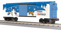 Mth Railking O Trains 2014 Happy Holidays Box Car 30-74780